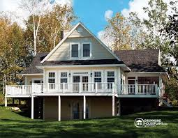 chalet building plans luxurious panoramic chalet with great room drummond house plans