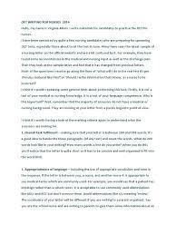 oet writing patient linguistics