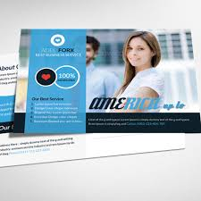 business postcard psd template art banner corporate png and psd
