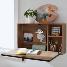 Wall Mounted Desk Shelf Wall Mounted Desk Pbteen