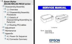 reset manual tx121 epson sx130 nx130 t13 me10 printers service manual new service