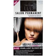 2 x schwarzkopf live salon permanent hair colour 9 52 pearl light