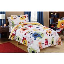 girls bed comforters walmart com rollback mainstays kids monster