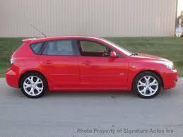 2007 used mazda mazda3 4dr sedan manual s sport at signature autos