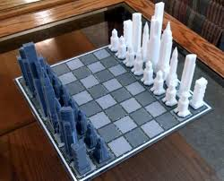 Chess Board Design Weekly Roundup Ten 3d Printable Chess Sets 3dprint Com The