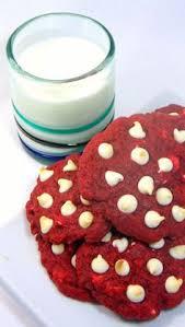 red velvet 3 ingredient cake mix cookies recipe red velvet