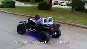 power wheels jeep hurricane modifications jeep hurricane power wheels modification youtube