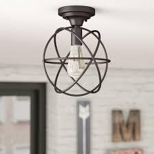 farmhouse semi flush light allagash 1 light semi flush mount farmhouse ceiling light