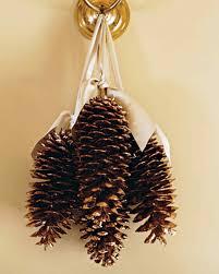 gilded pinecones martha stewart