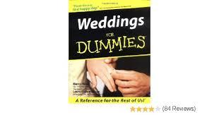 weddings for dummies weddings for dummies marcy blum fisher kaiser
