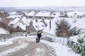 Snow Scotland Scotland S Weather Fresh Snow Warning As Temperature Hits Record