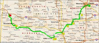 south dakota map with cities archive maps of the rich odyssey