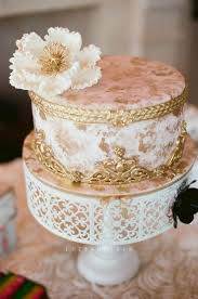 pink white gold wedding gold wedding white gold wedding cakes 2056748 weddbook