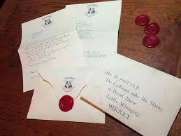 hogwarts acceptance letter make your own harry potter hogwarts
