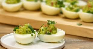 deviled egg dishes guacamole deviled eggs