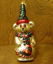 boyds bears resin olaf ornament snowman glass 6 50 in