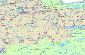 Lake Maps Mn Boundary Waters Routes Blog Bwca Bwcaw Quetico Park