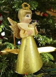 vintage christmas tree fairy doll vintage christmas fairy dolls