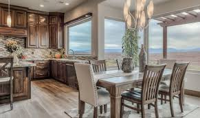 st george utah decaro absolute luxury home auction upstairs dining and kitchen