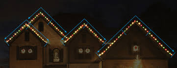how to hang lights on gutters