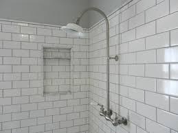 Popular Bathroom Tile Shower Designs Top Carrara Marble Subway Tile Shower Popular Home Design Unique