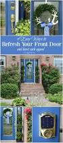 Front Curb Appeal - 4 easy ways to refresh your front door