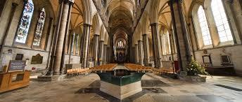 twentieth century and major repair salisbury cathedral