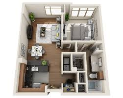 One Bedroom Apartment Floor Plans by Floor Plans And Pricing For Domus Philadelphia