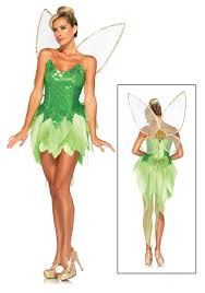 tinkerbell costume womens disney pixie dust tink costume costumes