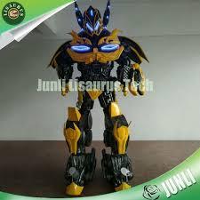 Bumblebee Transformer Halloween Costume Homemade Robot Transformers Costume Superhero Robot Costume