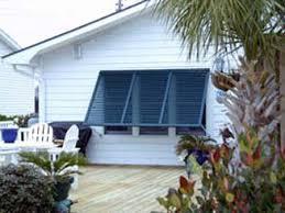 Bahama Awnings Hurricane Shutters Bahama Shutters Coastal North Carolina