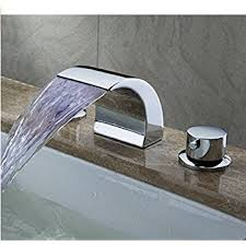 Bathroom Sinks And Faucets by Ultra Faucets Uf55510 Twist Collection Two Handle Widespread