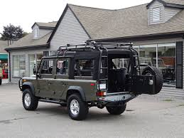 land rover defender convertible 1993 land rover nas defender 110 convertible 148 copley motorcars