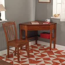 Corner Desk Overstock Simple Living Savannah 2 Piece Corner Wood Desk And Chair Set