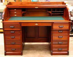 Oak Roll Top Secretary Desk by The Roll Top Desks An Item For Study Rooms Tcg
