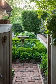 love the birdbath and boxwoods shrub bed pinterest gardens