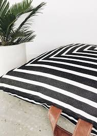 Large Outdoor Floor Pillows by Striped Square Outdoor Floor Cushions Squarefox