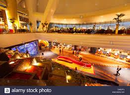 burj al arab hotel interior ornate luxury in the foyer lobby on