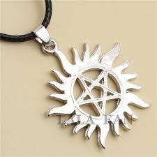 supernatural dean u0026 sam anti possession tattoo necklace u2013 goodies