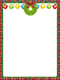 ornaments and wreath border png