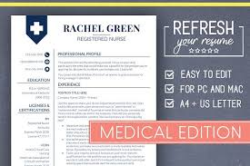 Medical Resume Templates Medical Resume Template Nurse Resume Resume Templates Creative