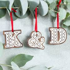 Letter Christmas Ornaments Ornament Beautiful Alphabet Ornaments 50 Beautiful Diy Christmas