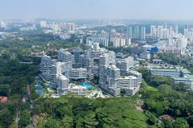 the interlace vertical village apartment complex in singapore by