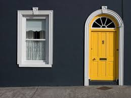 yellow front door what does the color of your front door say about you
