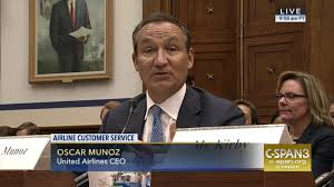 United Airlines Checked Baggage Fee by United Airlines Ceo Apologizes Breach Trust May 2 2017 C Span Org
