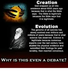 Creation Memes - creation god snapped us all into existence about 6000 years ago