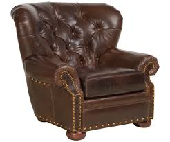 Leather Accent Chair Leather Accent Chairs And Chaises