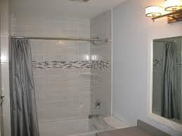 Modern Bathroom Tile Modern Bathroom With White Tile Contemporary Bathroom Newark