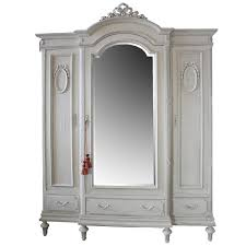 antique painted french country armoire in the louis xvi style at