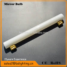 s14s 500ml glass tube bathroom led mirror light filament mirror